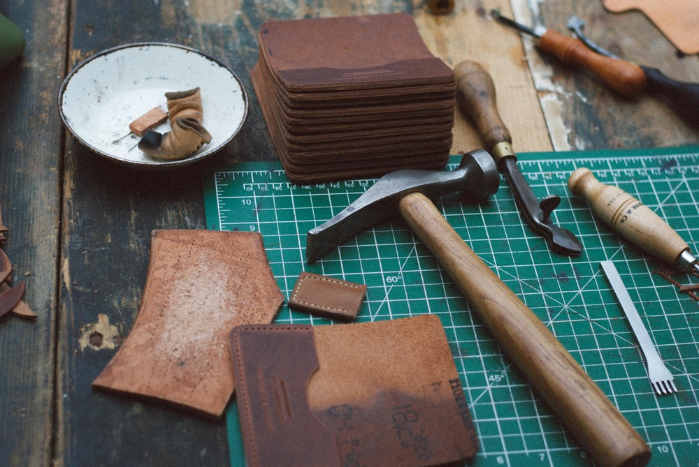 Leather-work tools