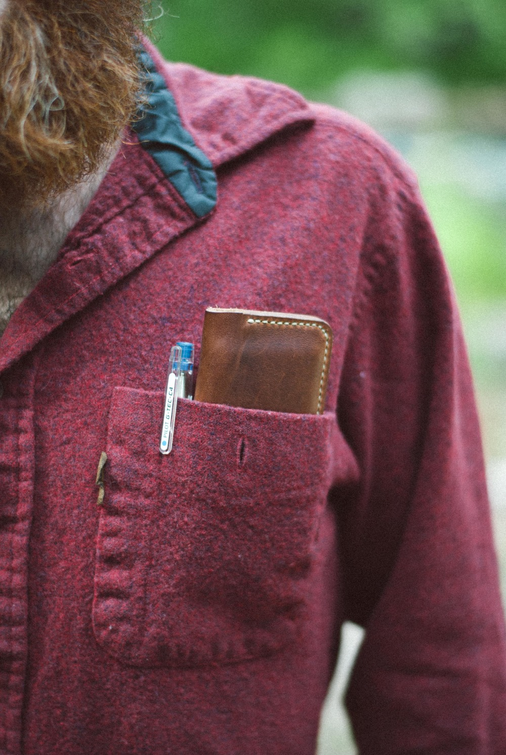 Peartree Leather Slim Wallet