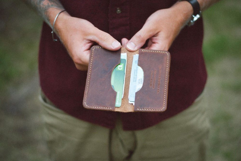 Peartree Leather Wallet