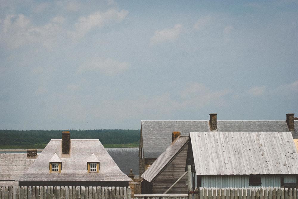 Louisbourg Rooftops