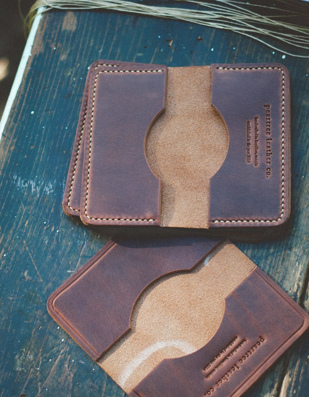 Peartree Leather Co. Wallets