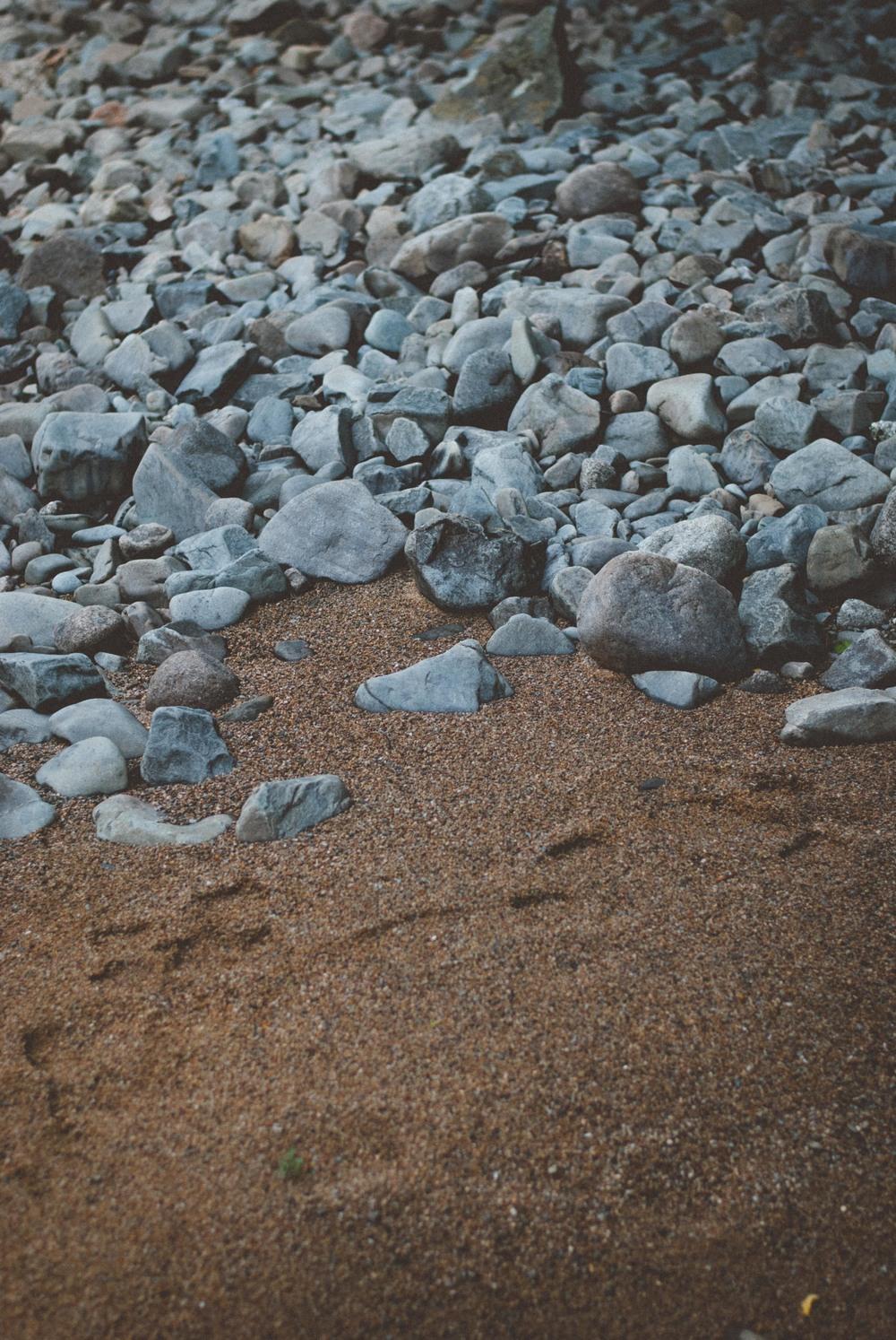 Rocks and Sand