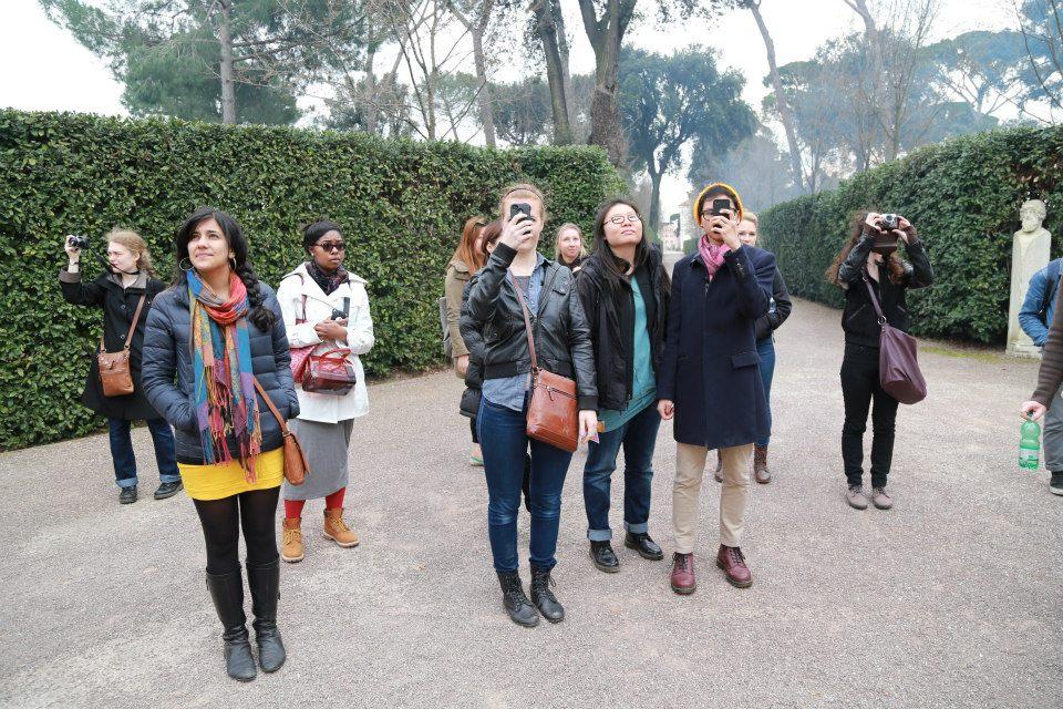 EHP-Spring 2014: Villa Medici Gardens