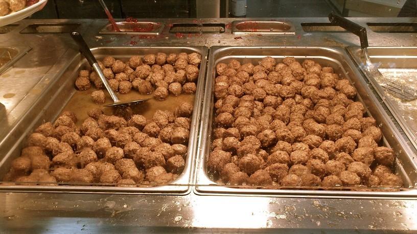 IKEA mäsové guľky - meatballs - Köttbullar