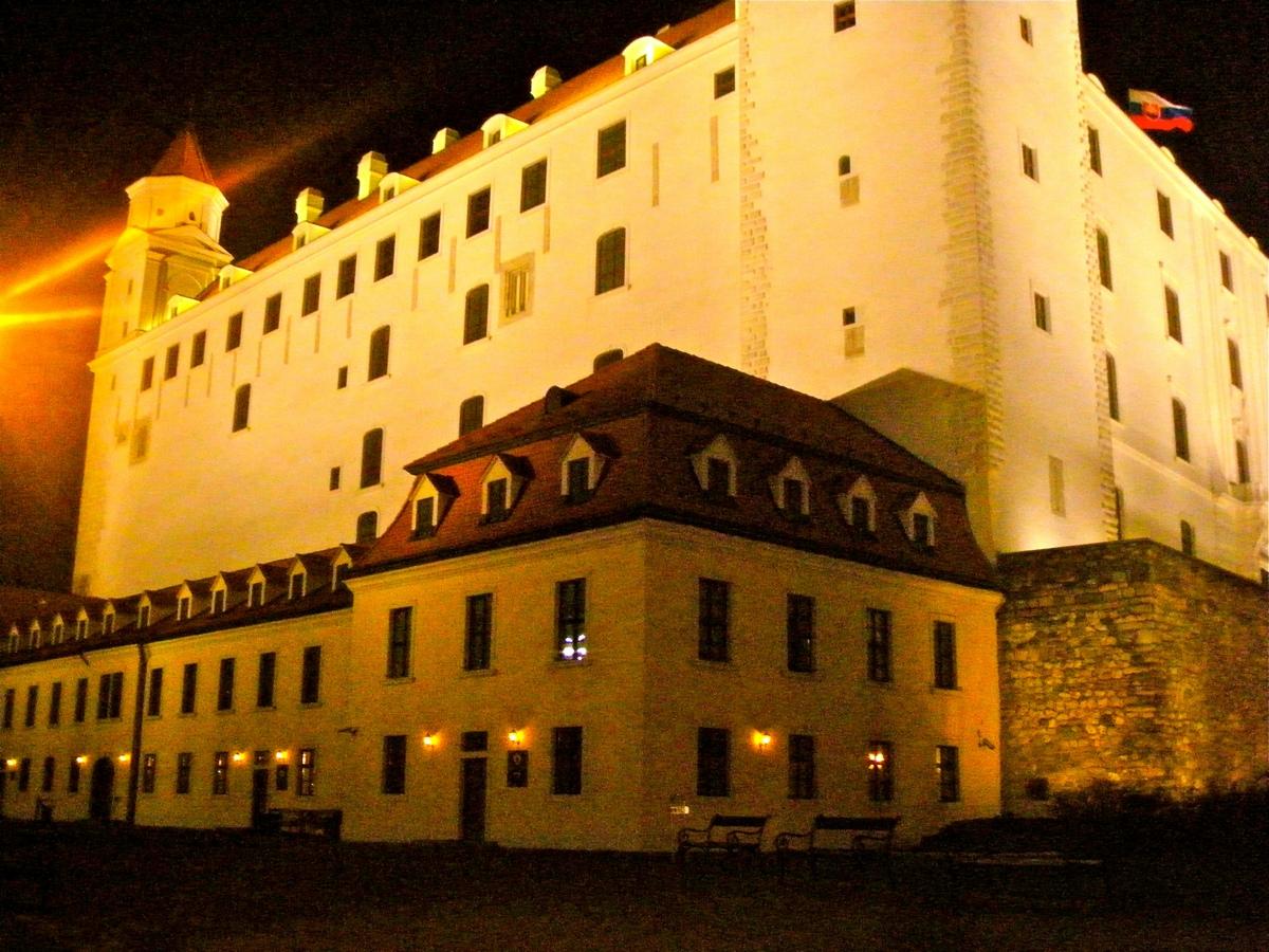 Bratislava Castle in the Night
