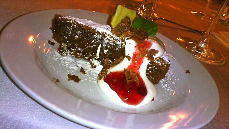 Mandľovo - čokoládová tortička (bez múky)