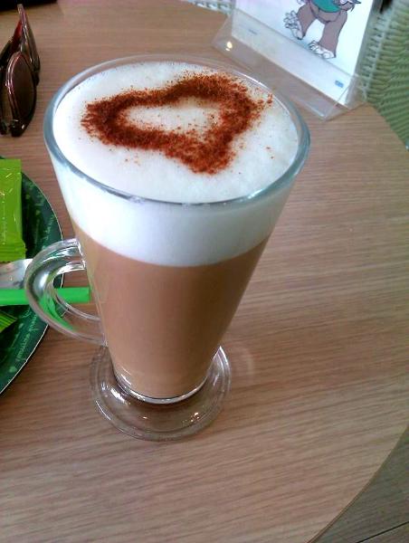 Green Tee Cafe Latte