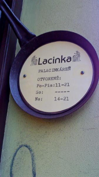 Otváracie Hodiny Palacinka Lacinka
