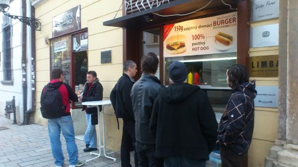 Burger Michalská Dokupil