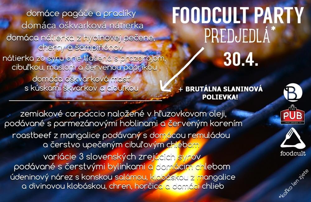 foodcult party predjedla