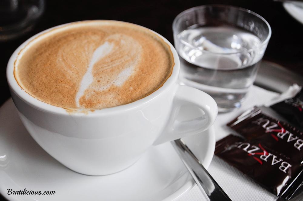 Najprv kávička.