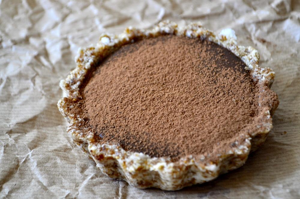 bananovo cokoladova raw torta befresh
