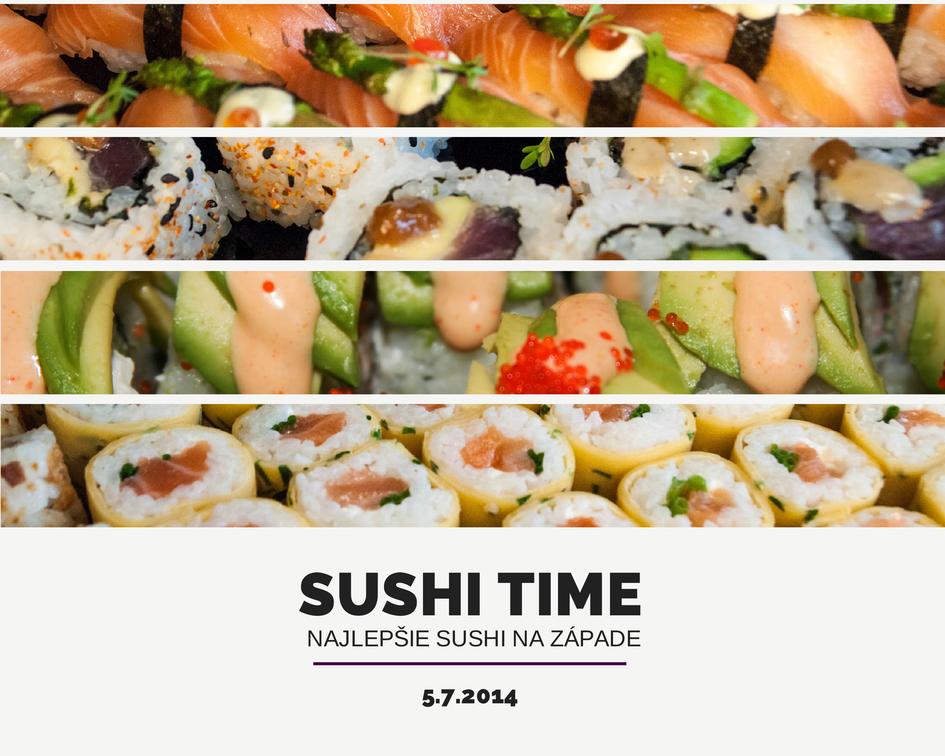 najlepsie sushi na zapade