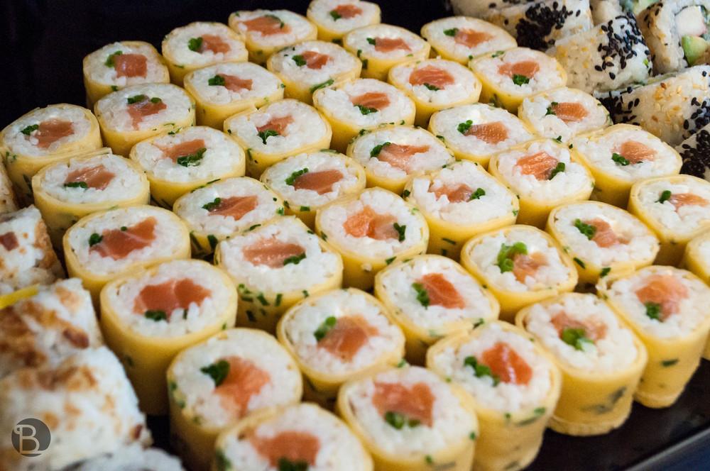 Ako dobrá praženička! - raňajkové sushi.