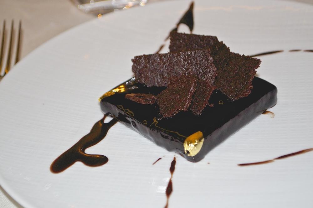 čokoládový fondant