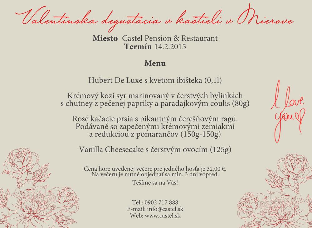 Valentín Castel Pension Mierovo