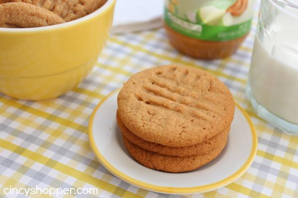 Cookies z arašidového masla