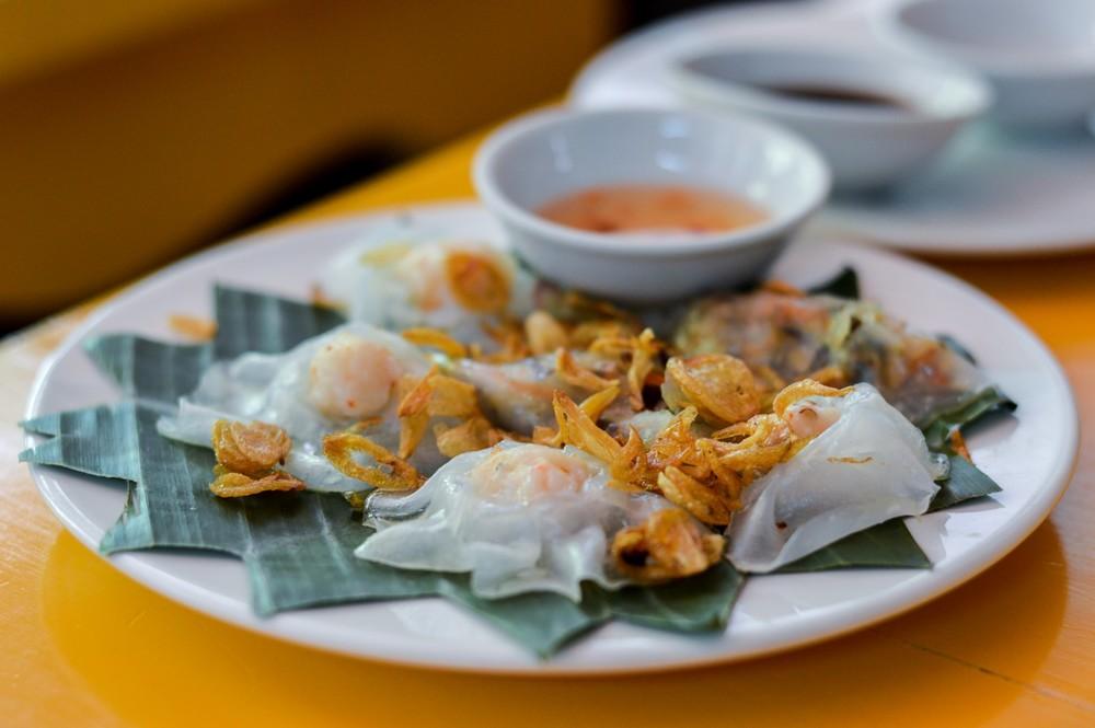 Vietnamská špecialita s názvom Biela Ruža.