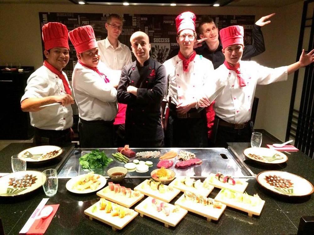 Sushi event s Khalilom Tribakom