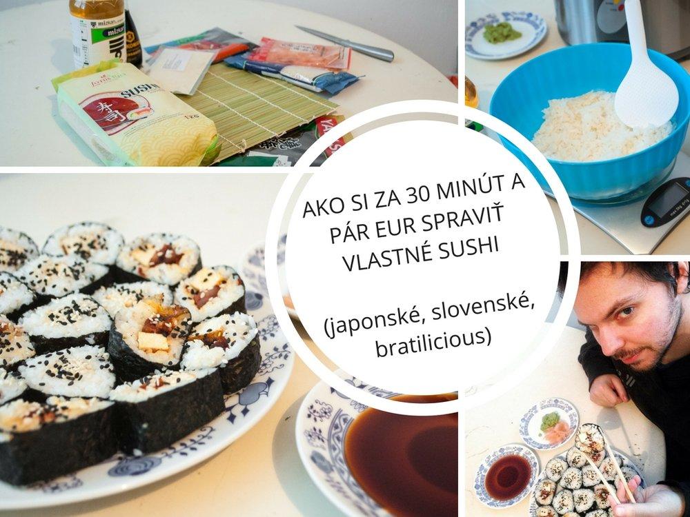sushi recept doma