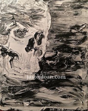 "Elemental  -Oil & Acrylic on Canvas - 24"" x 30"""