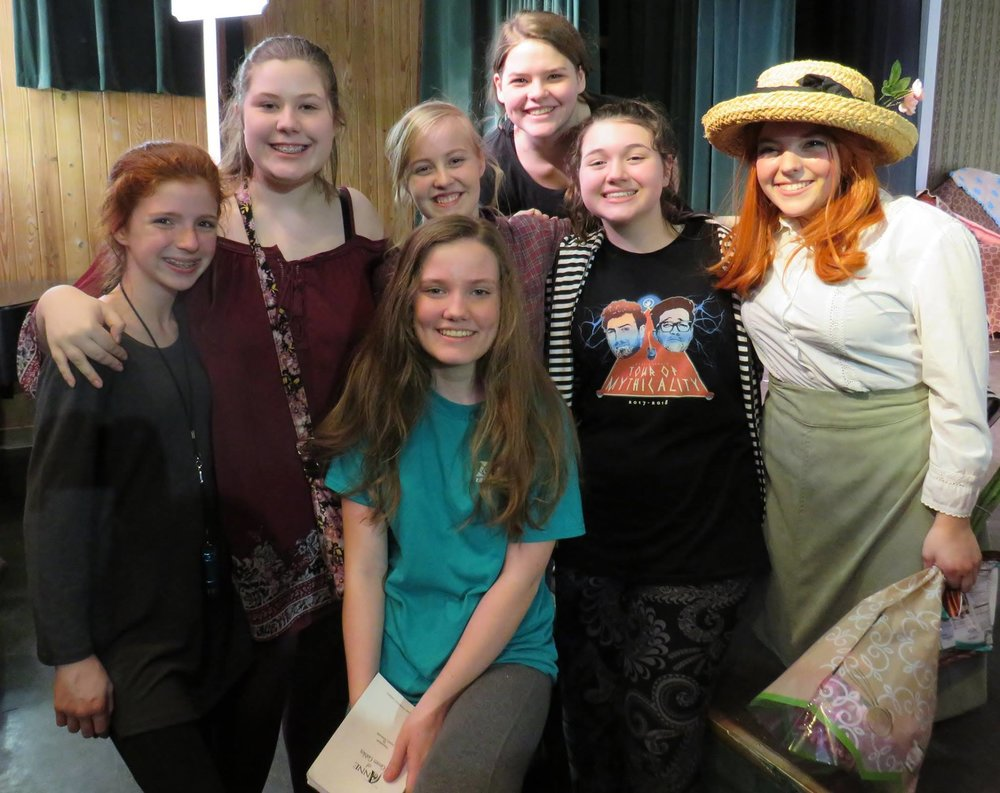 Yearbook Photo Example: Anne of Green Gables
