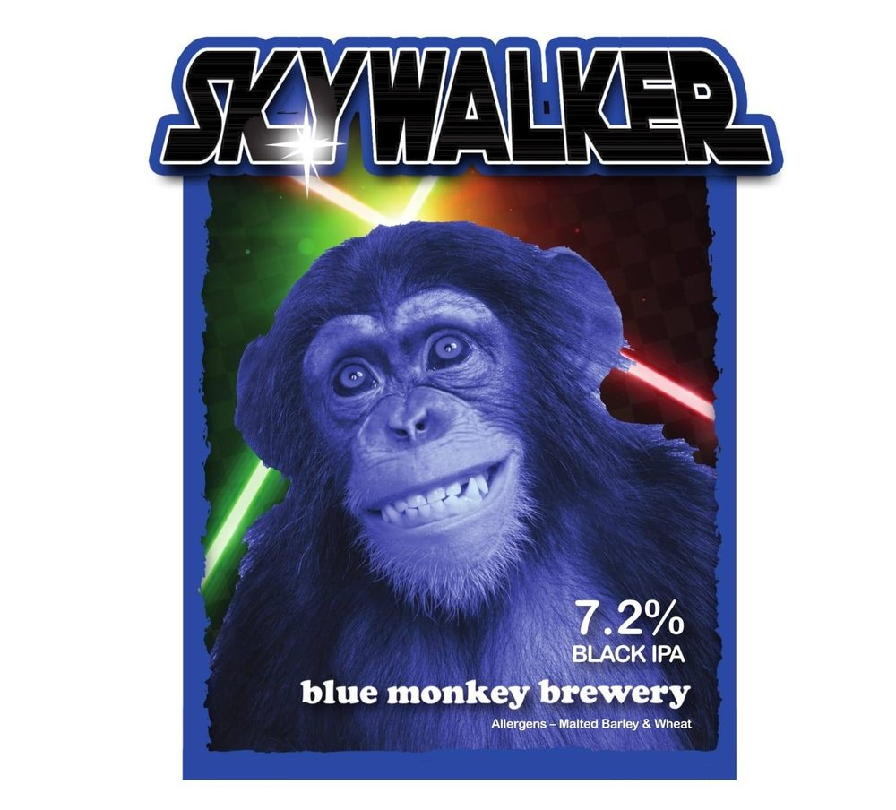 Blue Monkey Skywalker
