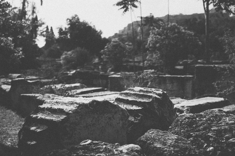 Photo 14. Ruins of the ancient Greek Agora (market/public space).  Athens, Greece, 2014.