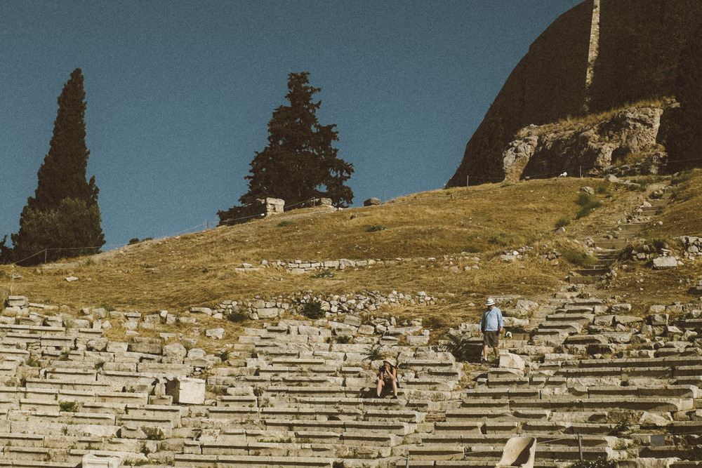 Daydreaming at the Theatre of Dionysus