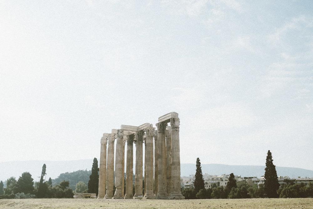 Big Columns in a Big Sky