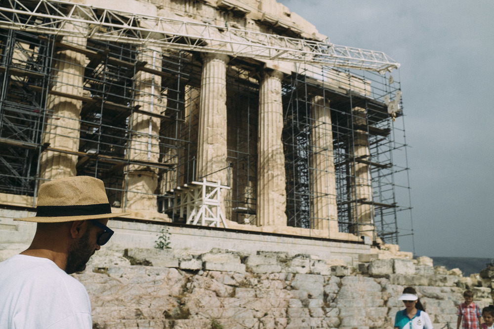 Straw Hat under Parthenon