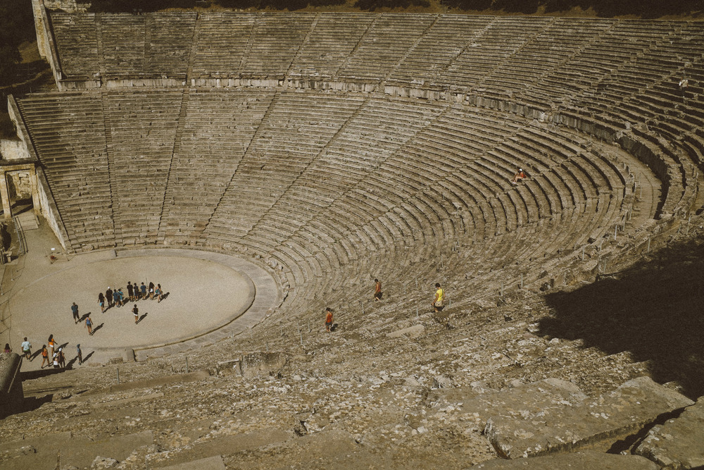 Ancient Theatre at Asclepeion II
