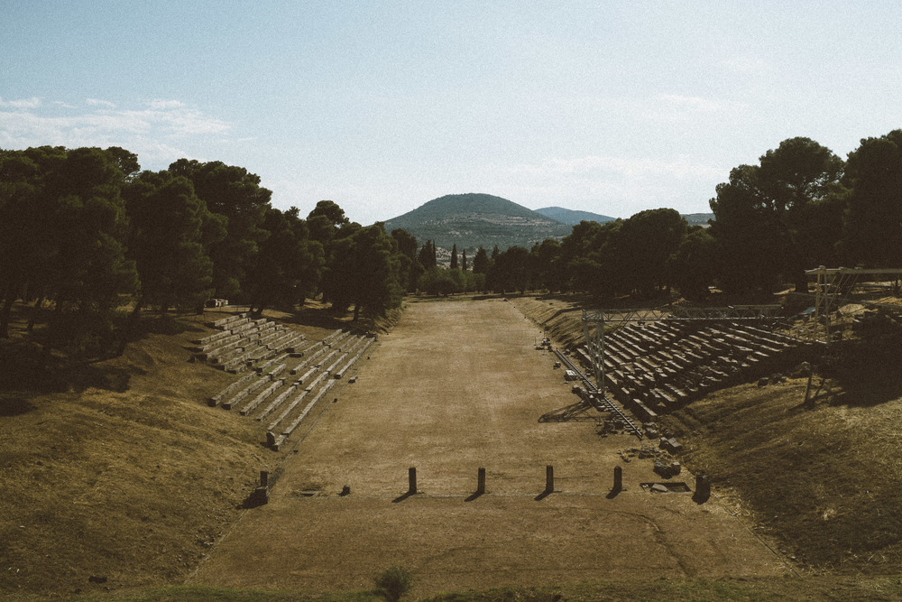 Ancient Olympic Track II