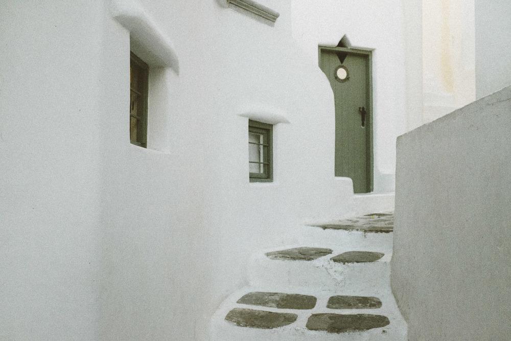 A White Maze
