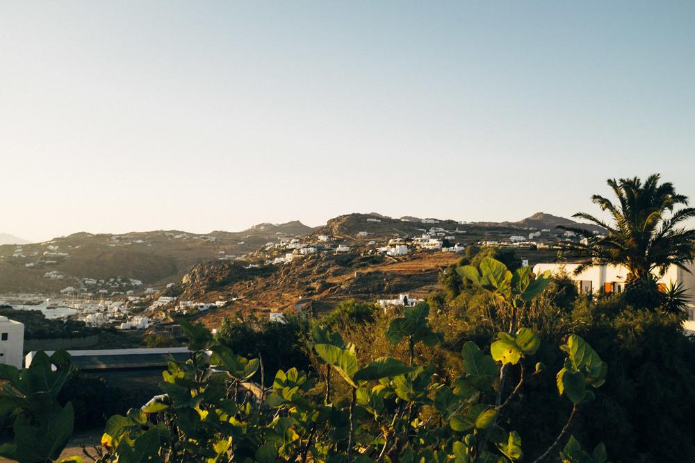 The Golden Light on Mykonos