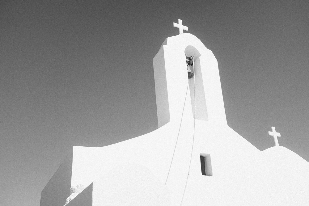 The Crosses of Christianity in White