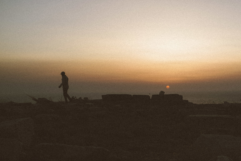 Sunset at Temple of Apollo II