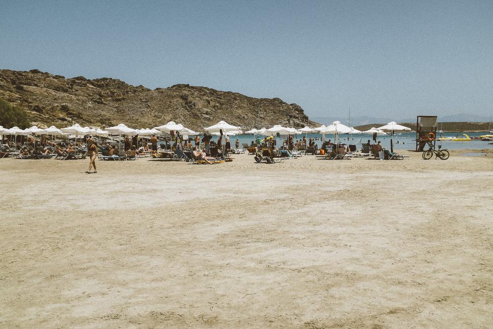 The Makeshift Beach