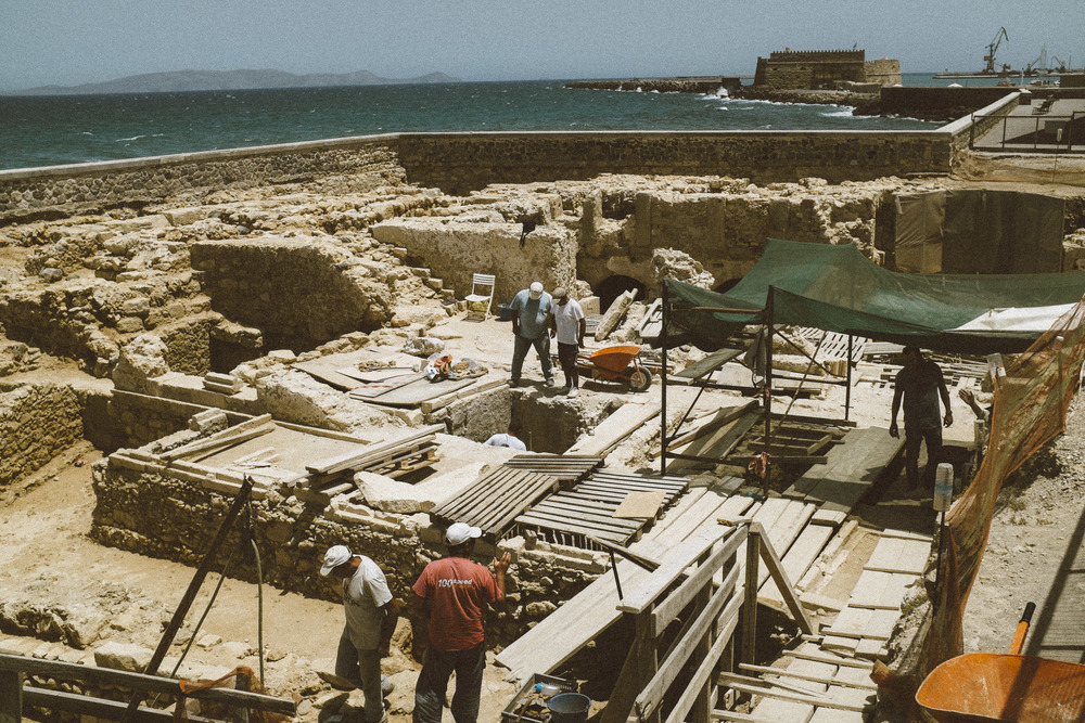 Men at Work for Archaeology