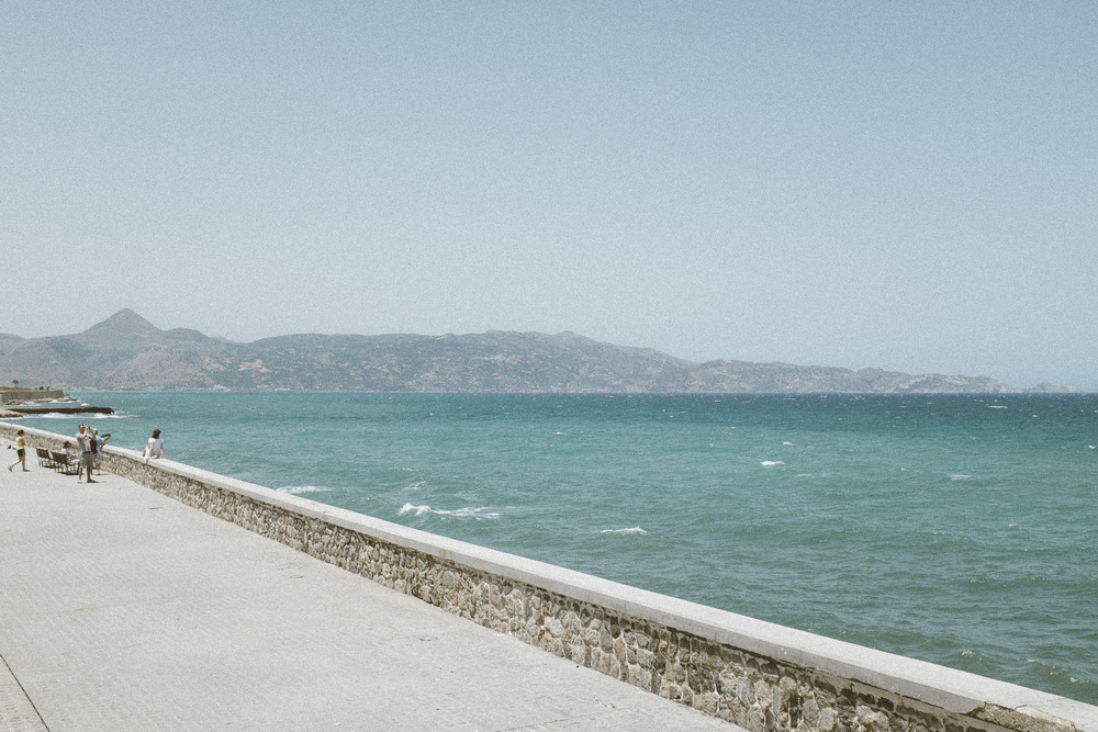The Portrait at Heraklion Wall