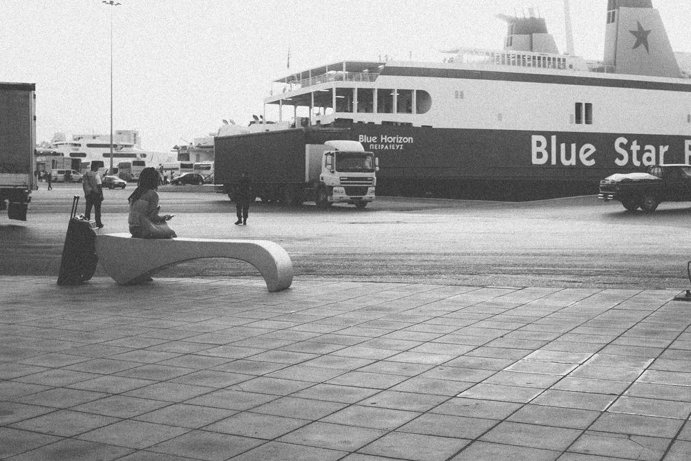 Lady at Port