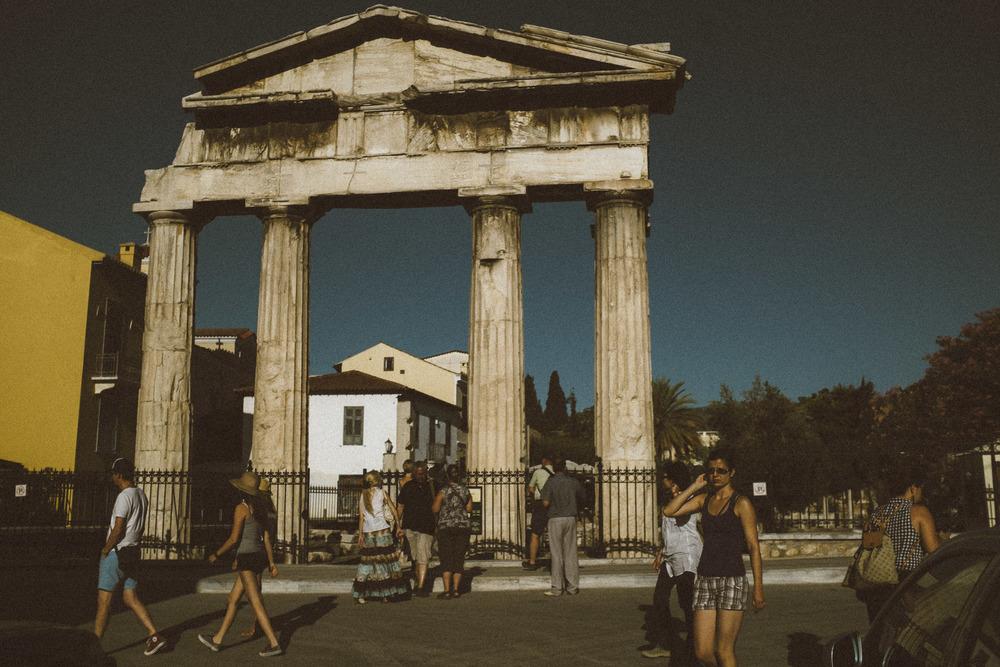 Entry to Roman Agora