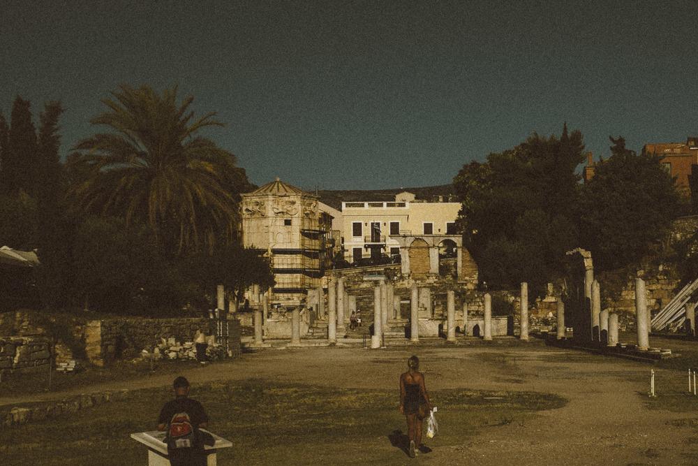 Golden Hour at Ancient Roman Agora