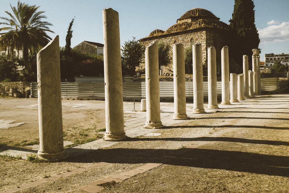 Roman Agora Ruins II