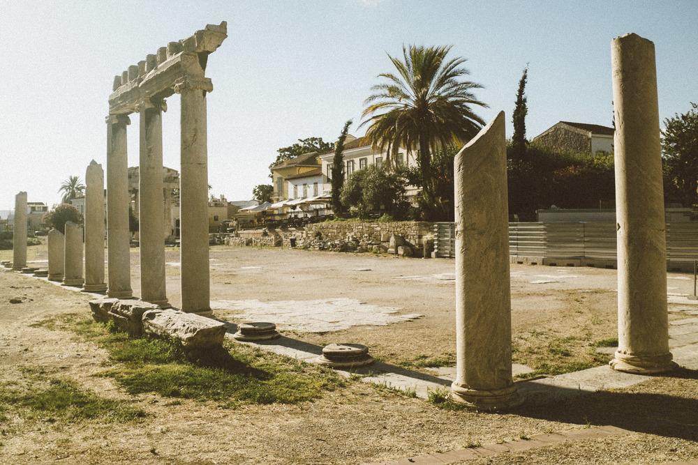 Roman Agora Ruins I