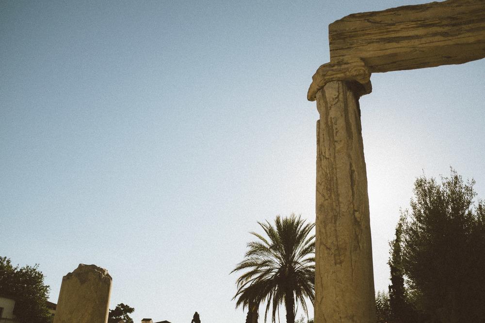 Roman Agora Ruins III