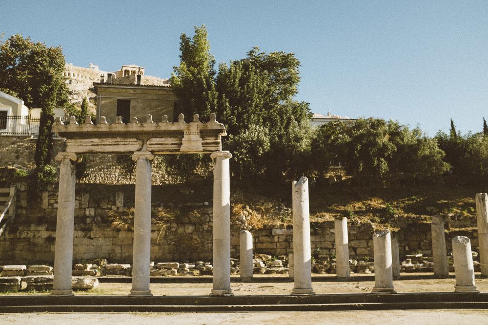 Roman Agora Ruins IV
