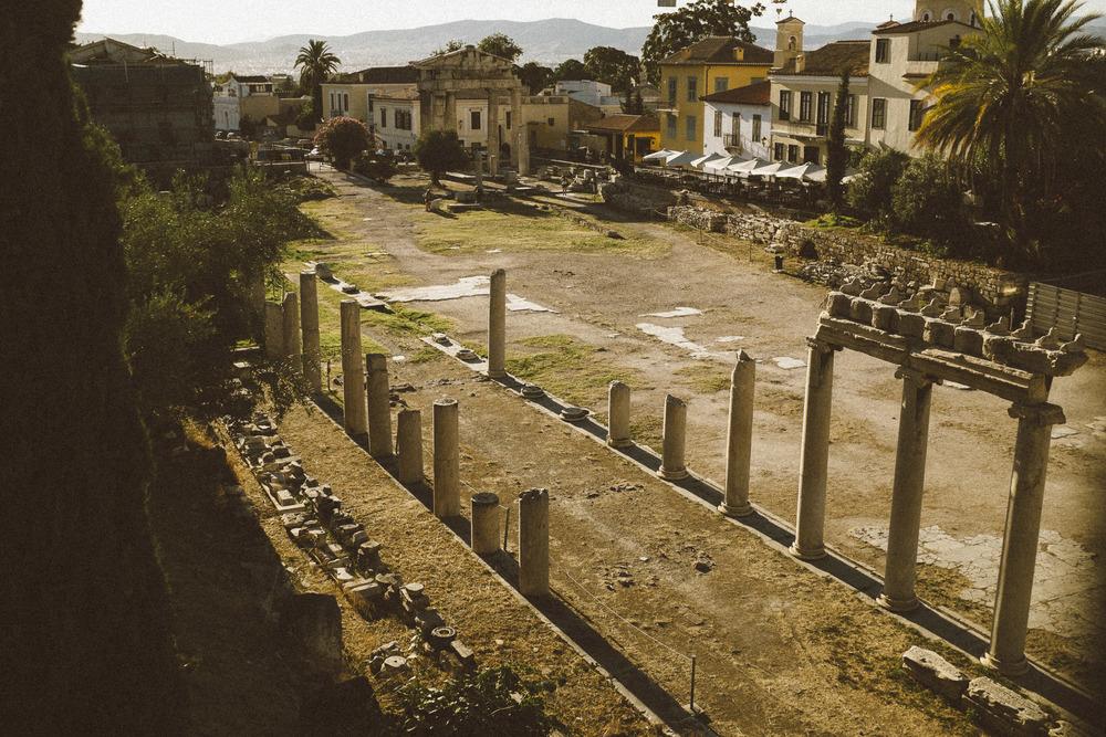 Roman Agora Ruins V