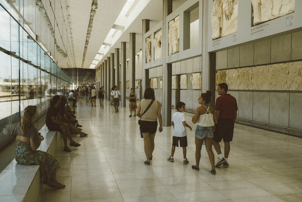A Modern Museum at Acropolis