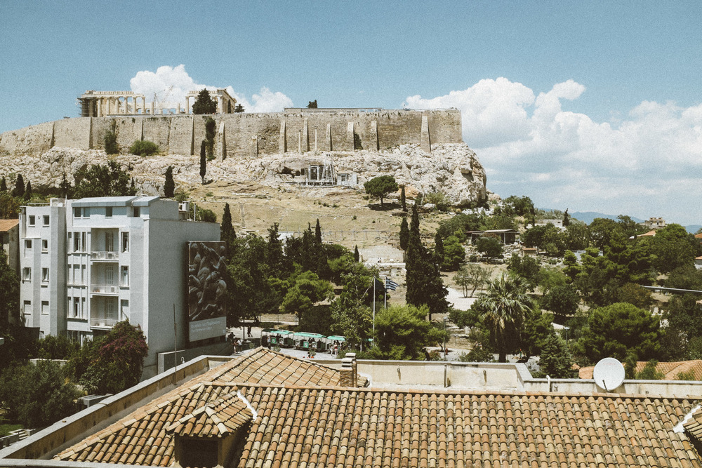 Acropolis Rising Above